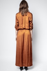 Kleid Radial Satin