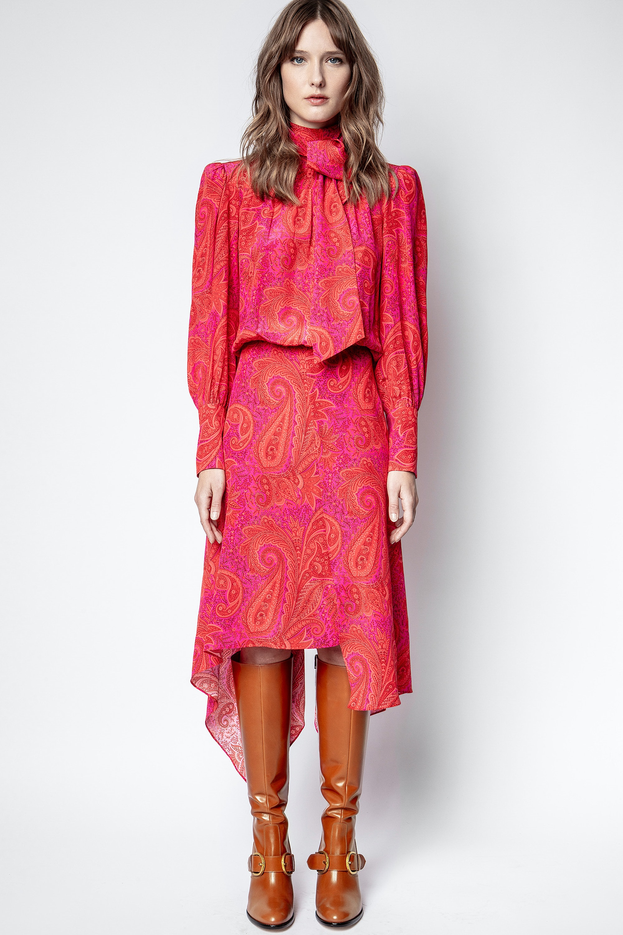 Rire Paisley Peacock Dress
