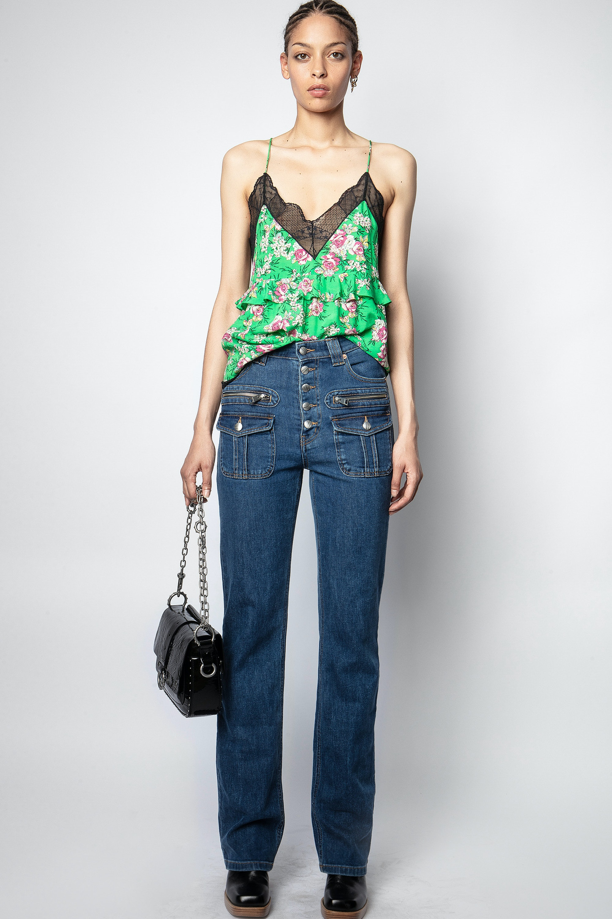 Charlie Pint Roses Camisole