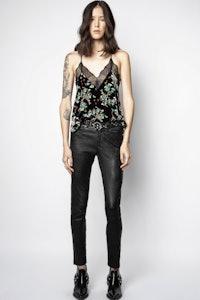 Christy Velvet Blossom Camisole