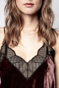 Christy Velvet Camisole