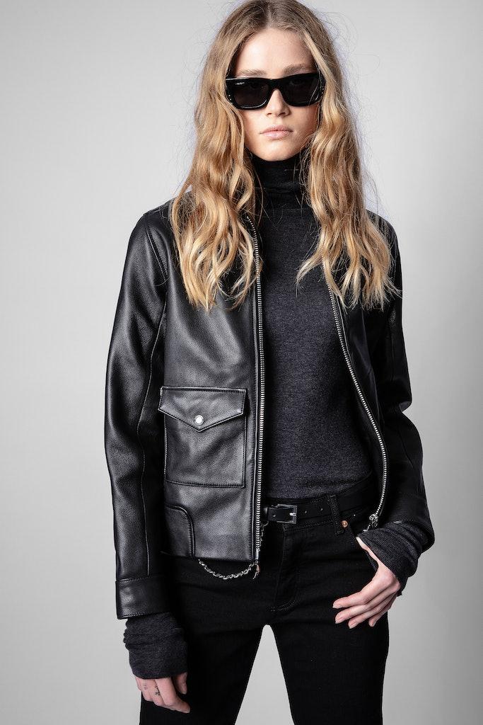 Leather Jacket Lazy