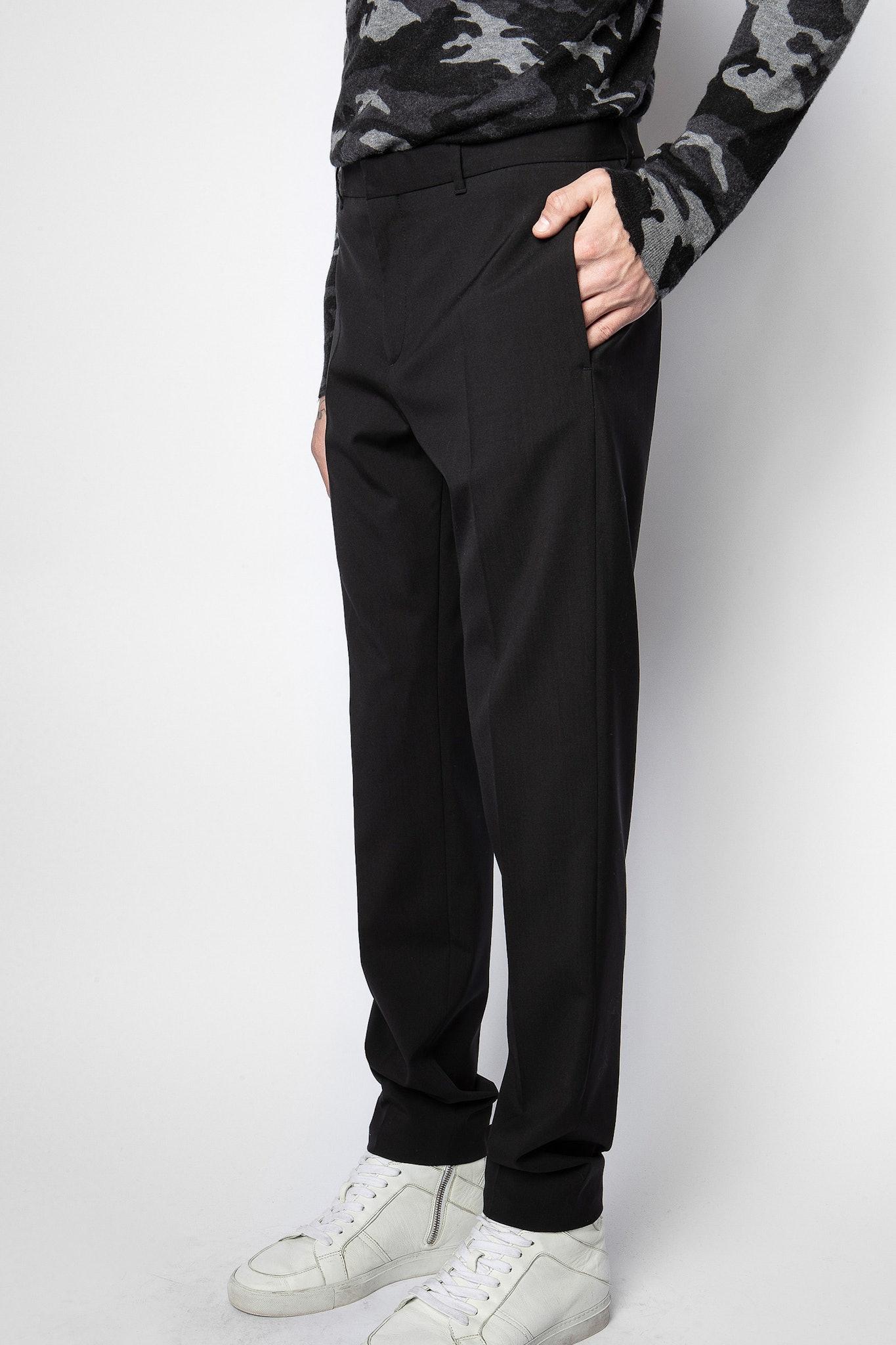 Pantaloni Paris Wool Tech