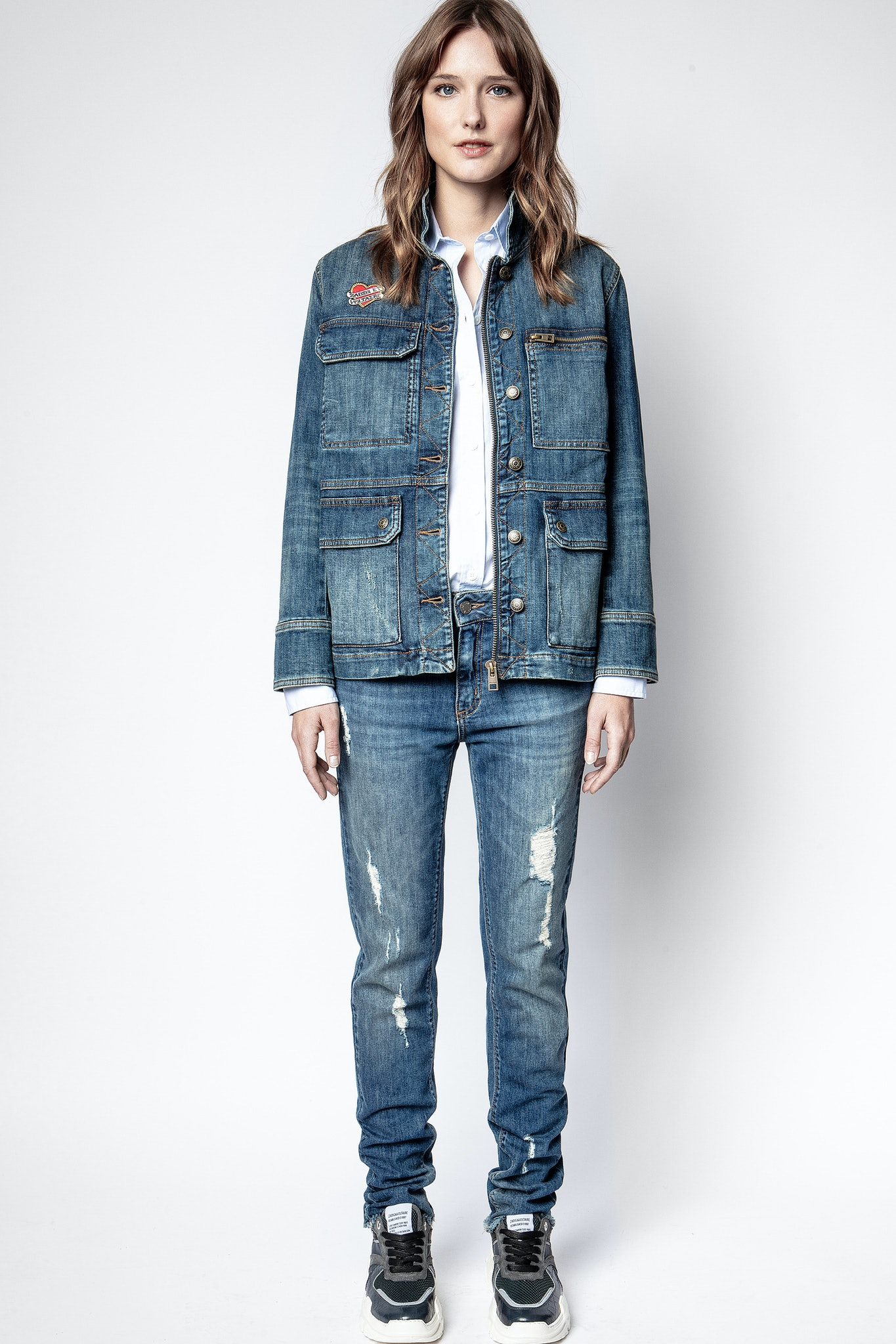 Kimy Denim Jacket