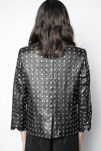 Verys Cuir Studs Jacket
