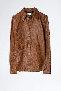 Tris Cuir Froisse Shirt
