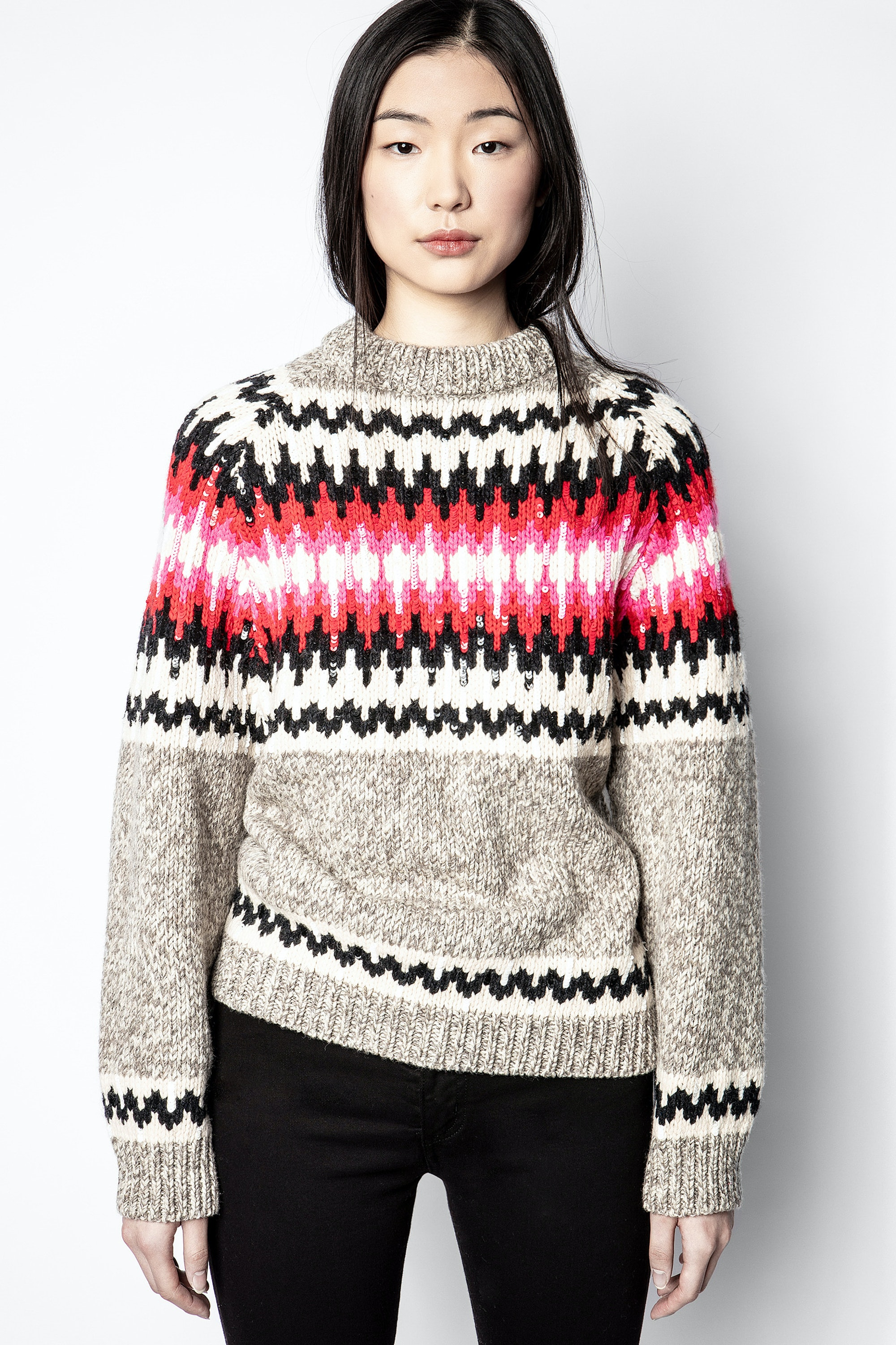 D-Von Sequins Sweater