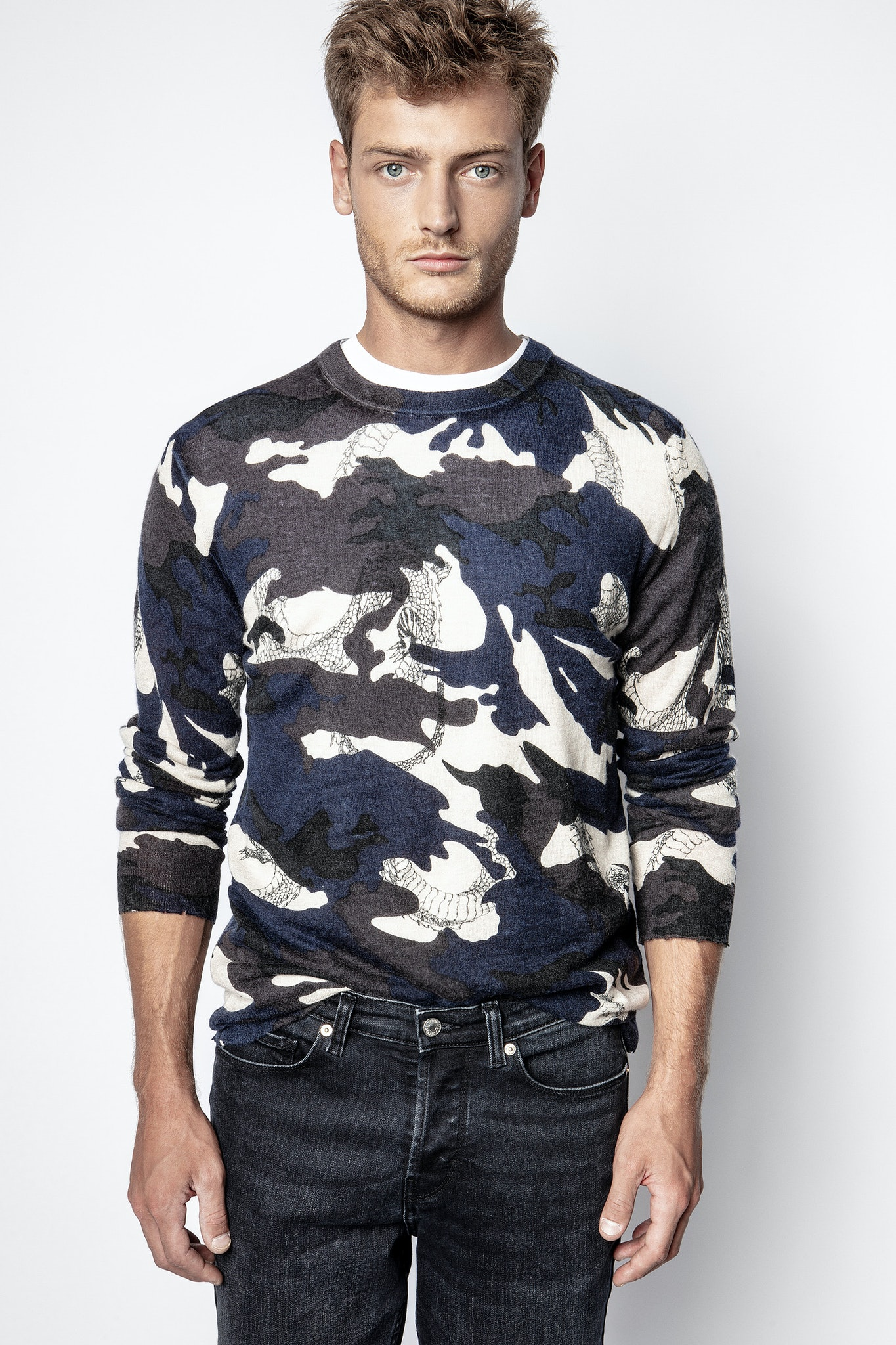 Pullover Kennedy Camou