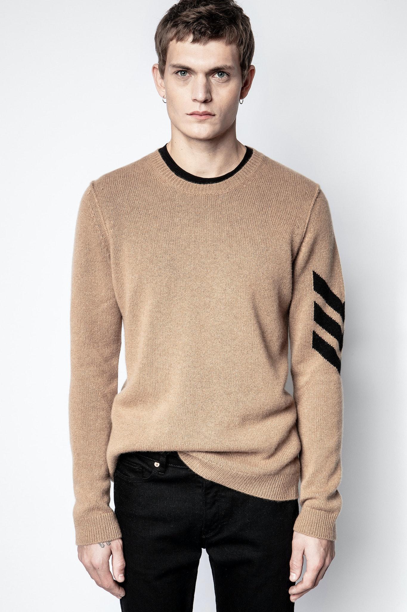 Kennedy Cachemire Arrow Sweater