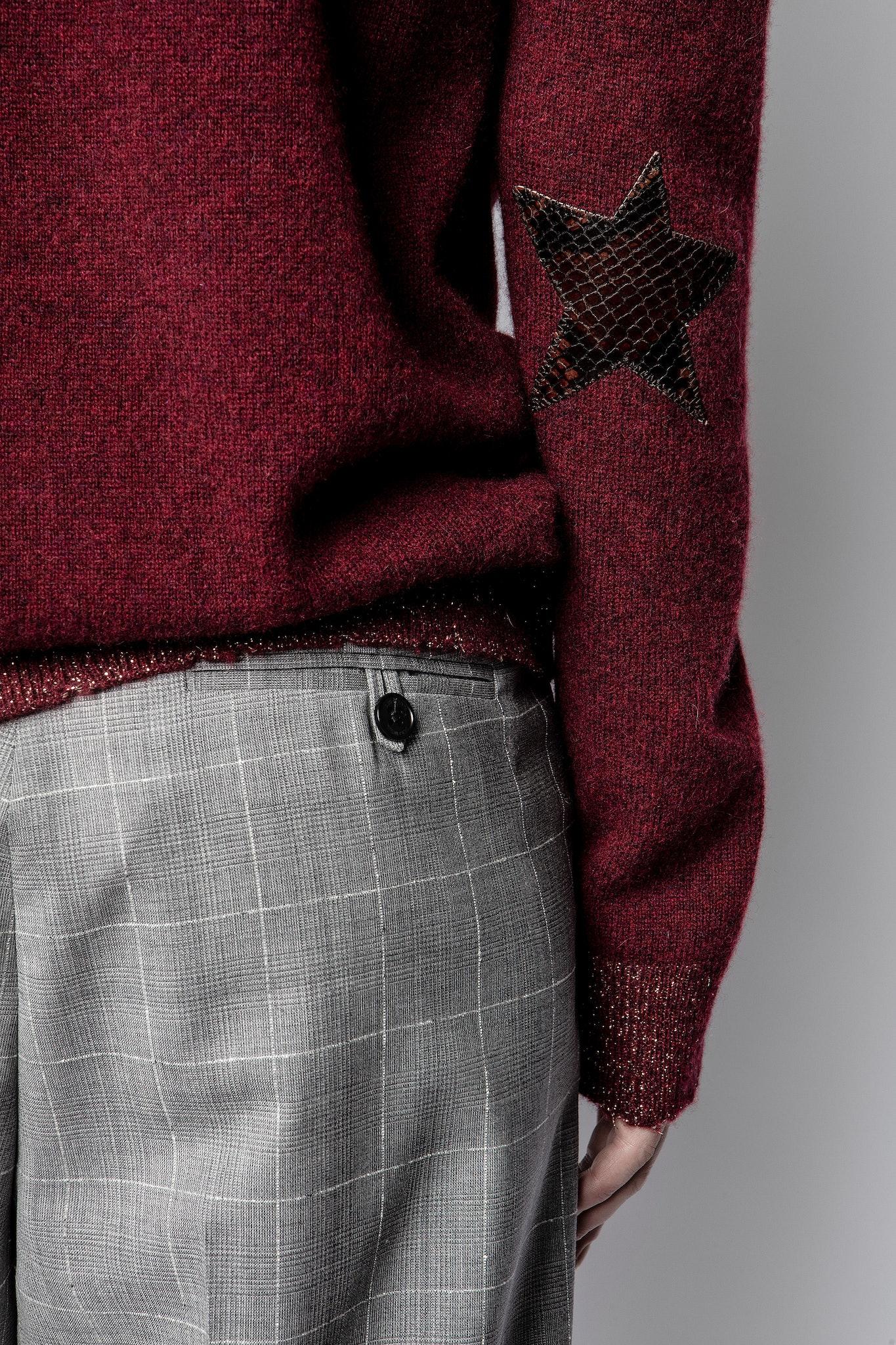 Pullover Cici Patch Lurex Kaschmir