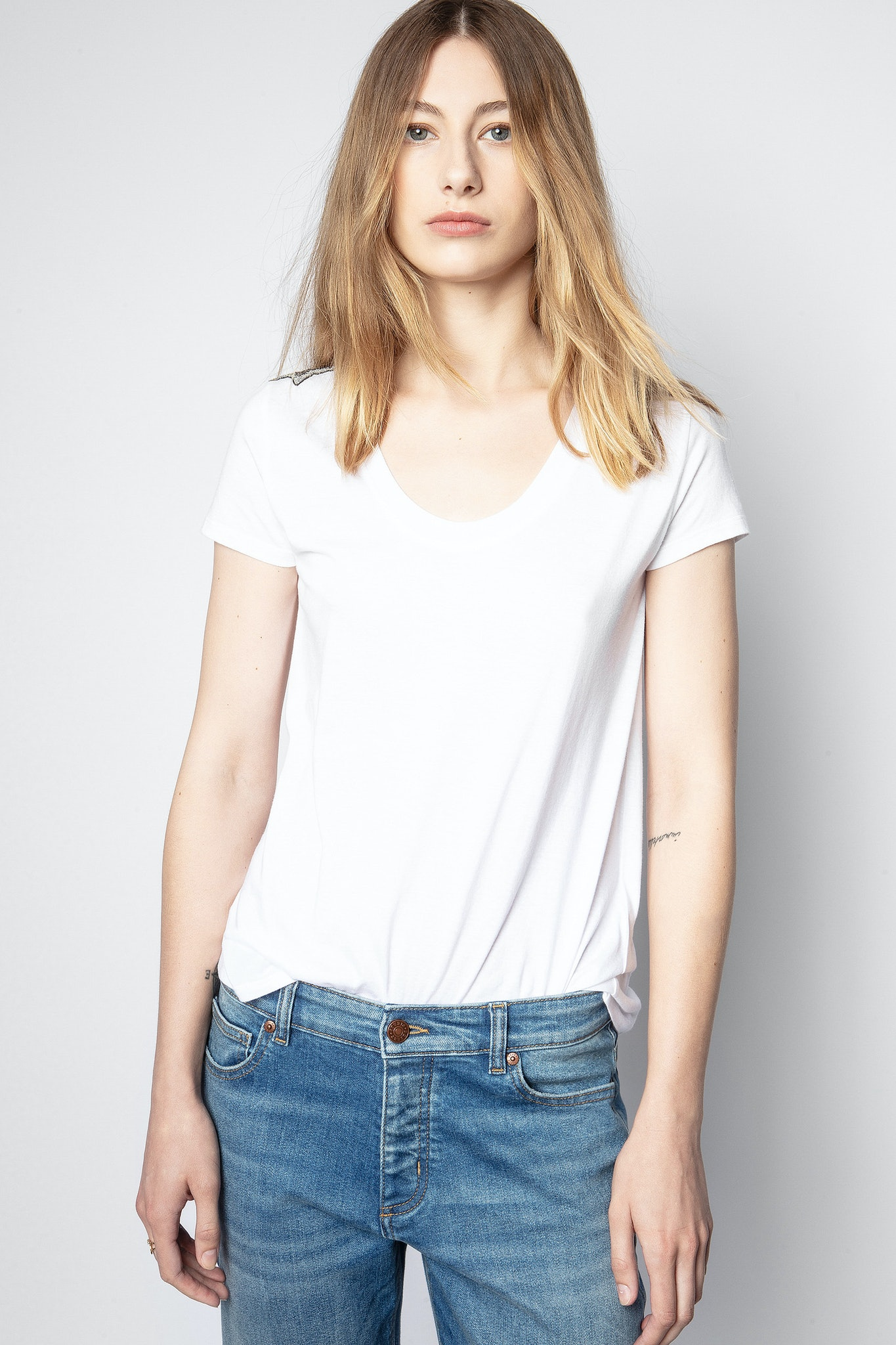 T-Shirt Tiny ZV Stars Cannetille Brodé