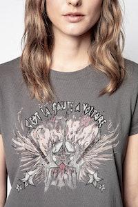 Azedi Guitar Pigment Dye T-Shirt
