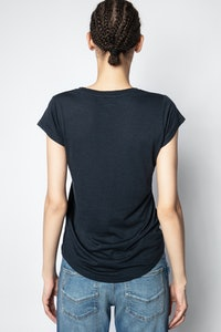 Skinny Amour Jormi Strass T-Shirt
