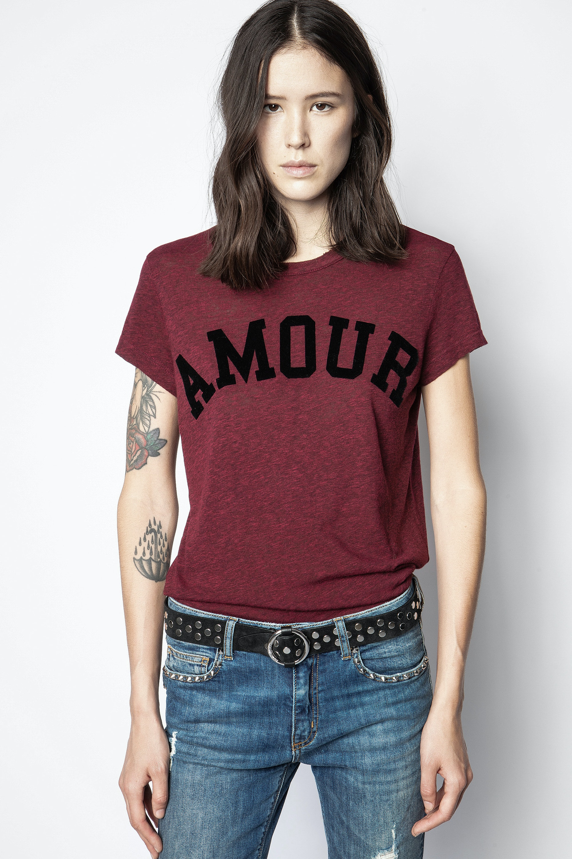 Walk Amour Overdyed T-shirt
