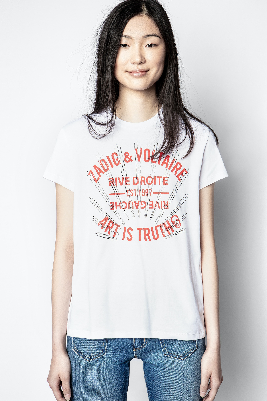 Zoe Blason Strass T-shirt