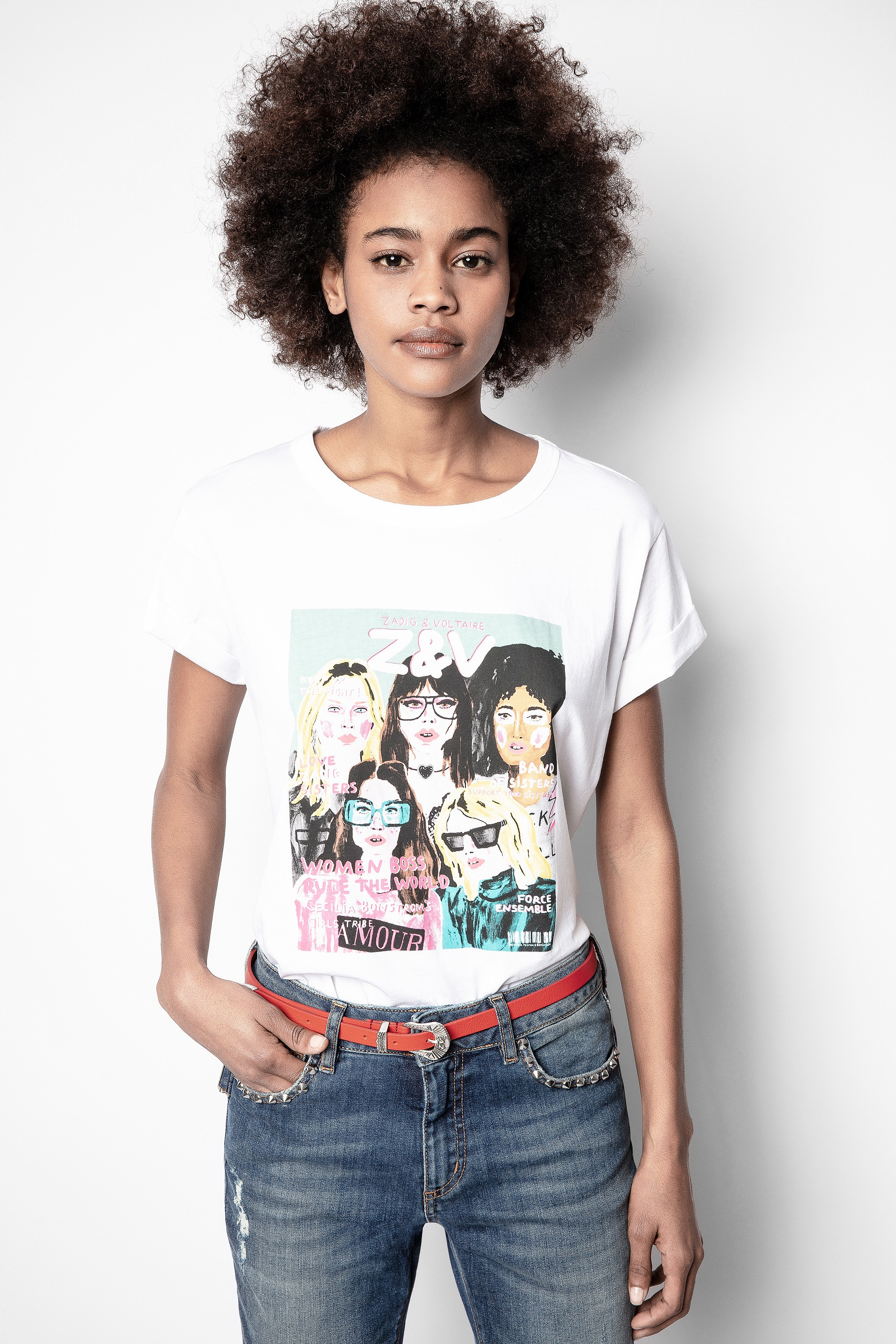 Anya Band of Sisters T-shirt