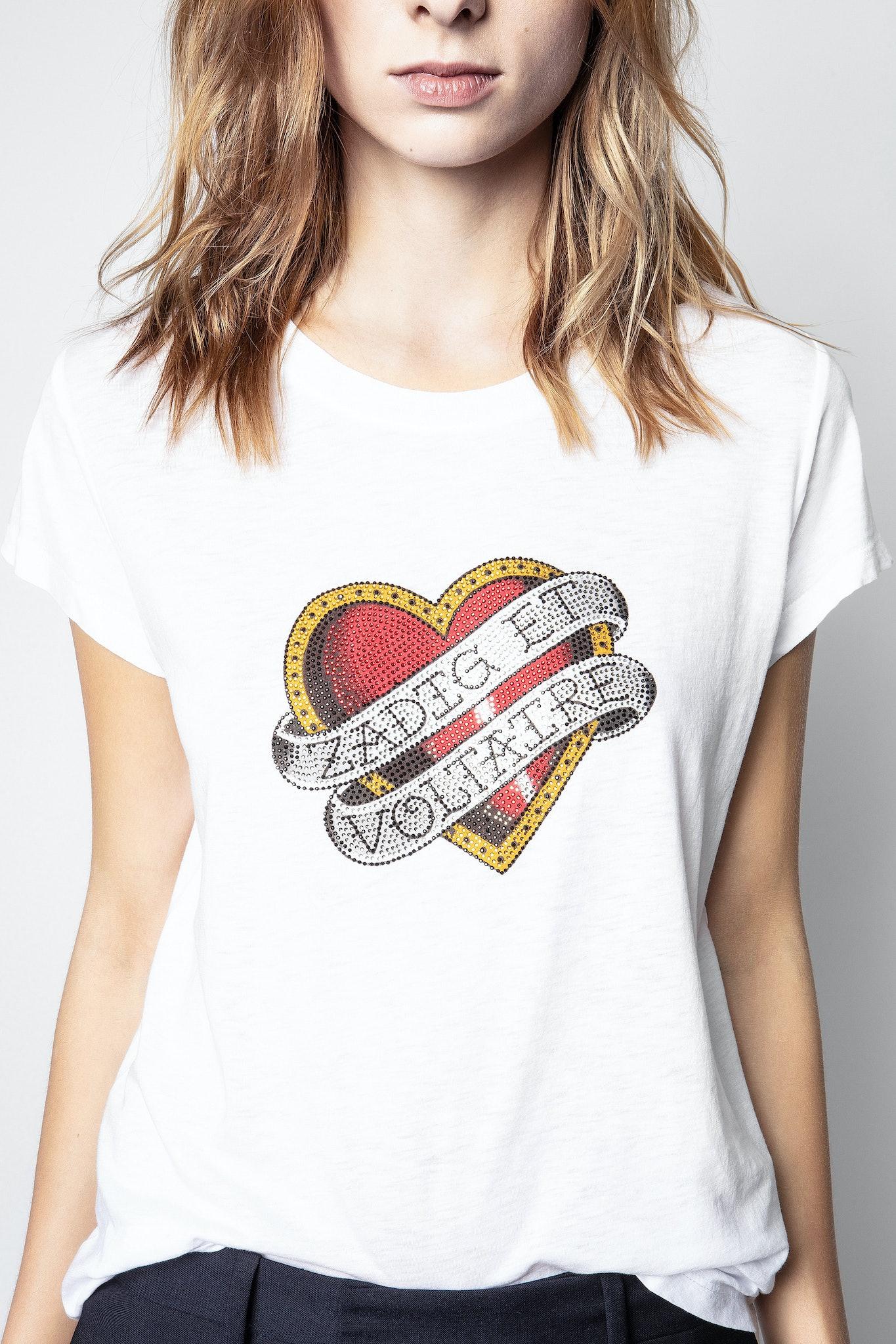T-Shirt Woop Big Ribbon Heart