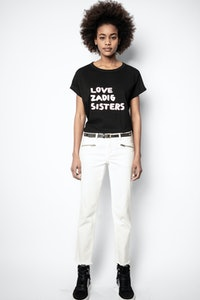T-Shirt Anya Zadig Sisters