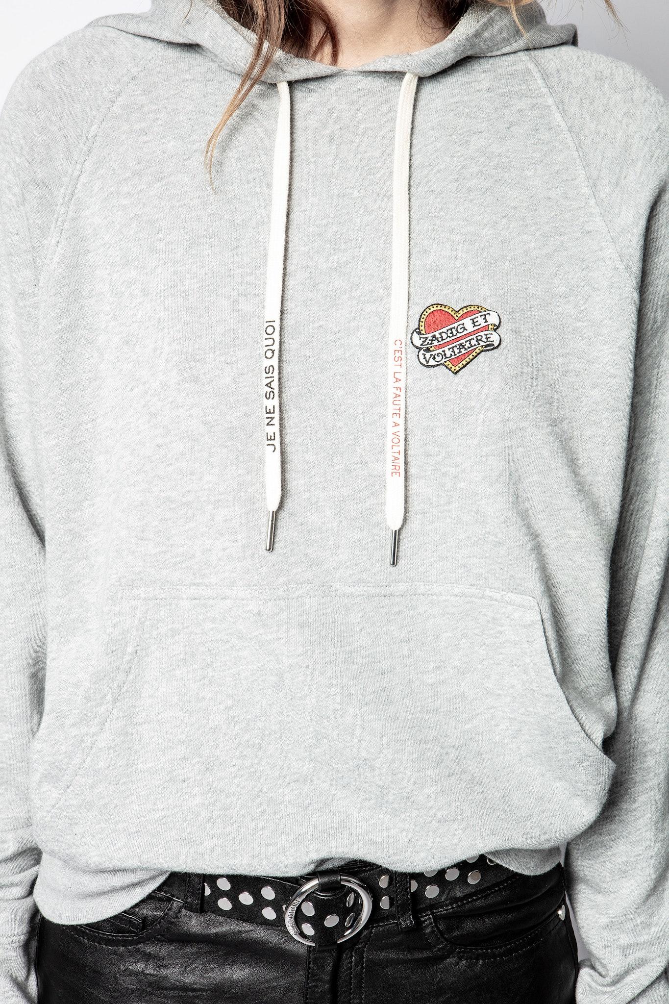Sweatshirt Clipper Heart Iconics