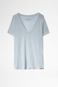 Henley-Shirt Atal Leinen