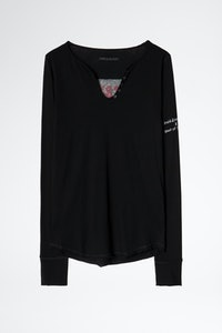 Band of Sisters Henley T-shirt