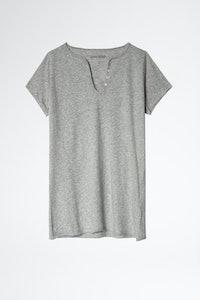 Paris Eiffel Henley T-shirt