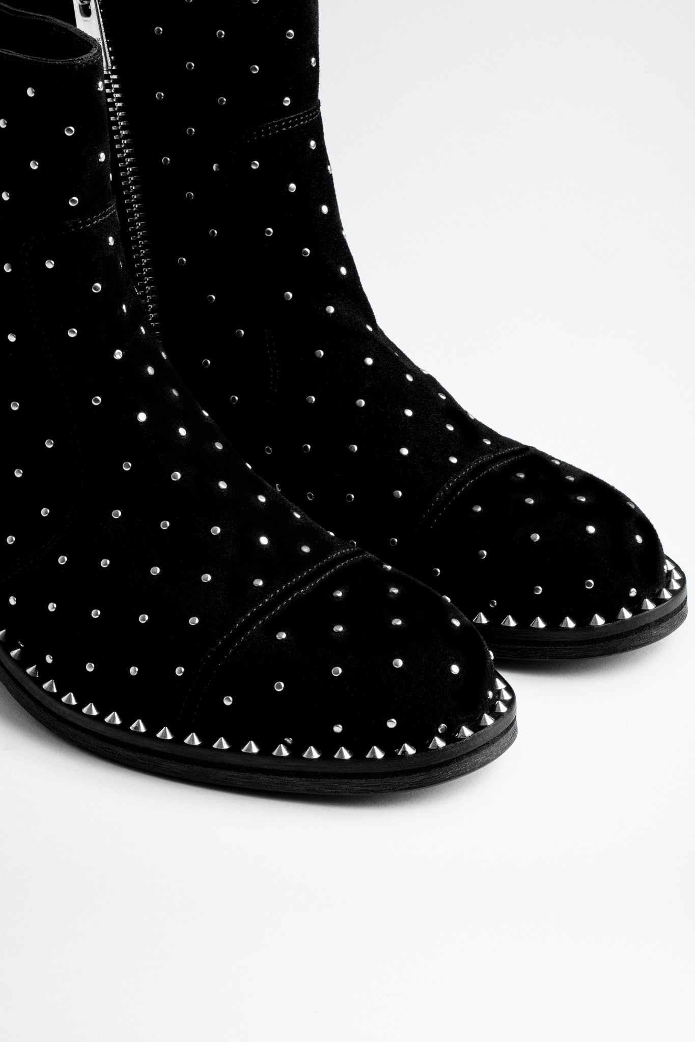 Empress Studs Ankle Boots