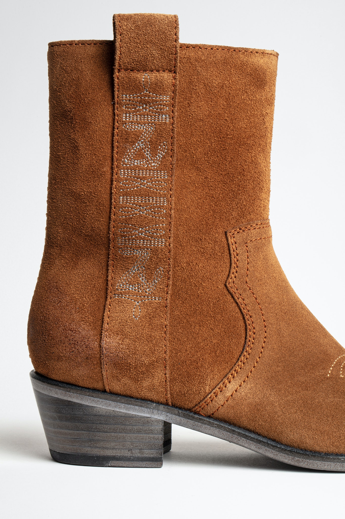 Pilar High Suede Ankle Boots