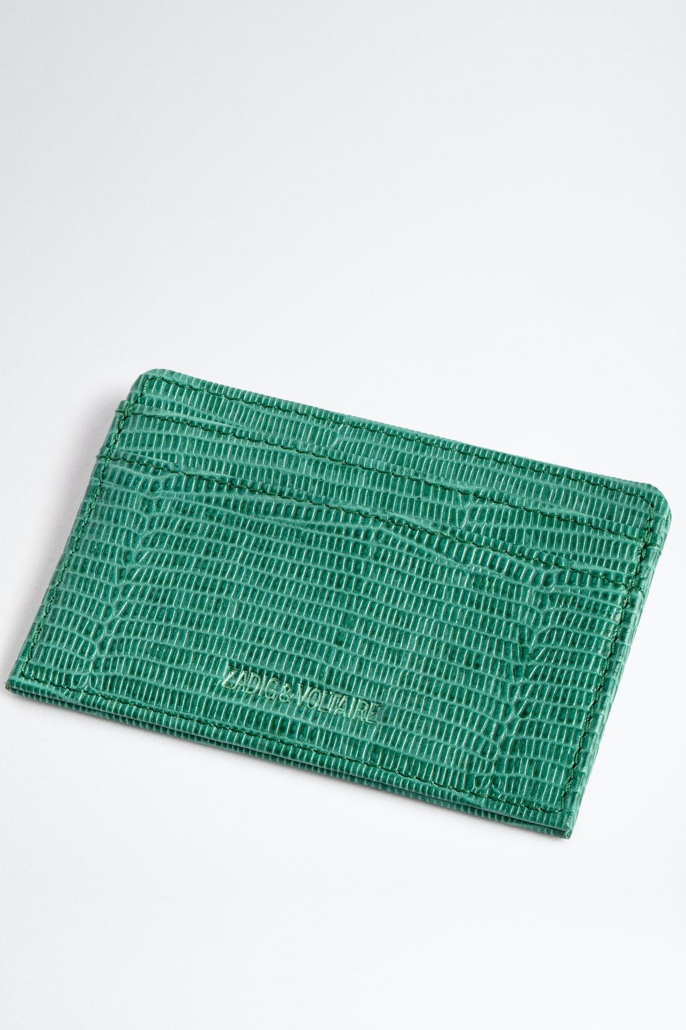 Embossed ZV Pass Card Holder
