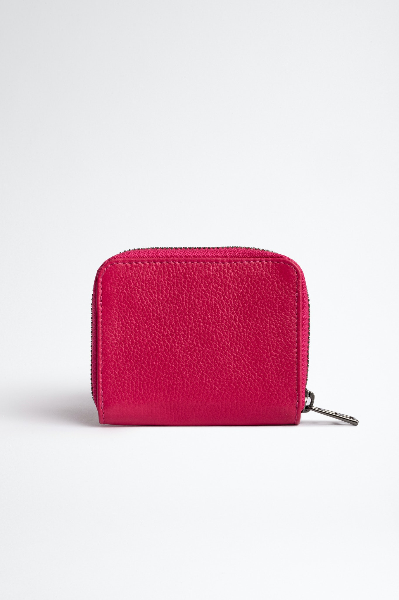 Grained Leather ZV Mini Wallet