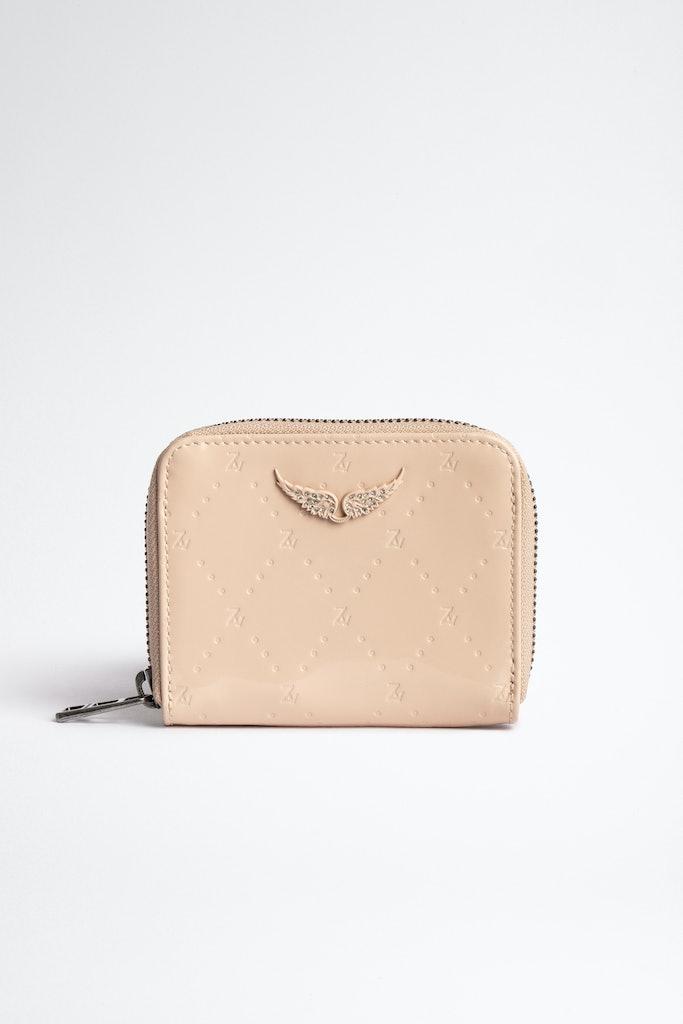 Embossed ZV Mini Wallet