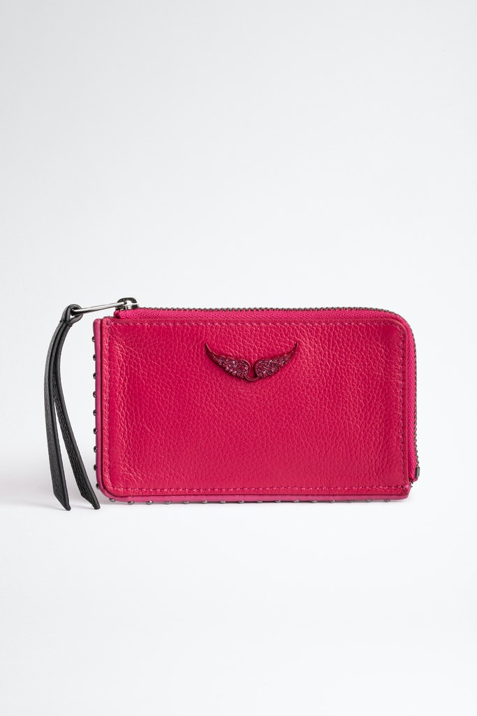 Grained Leather ZV Card Holder