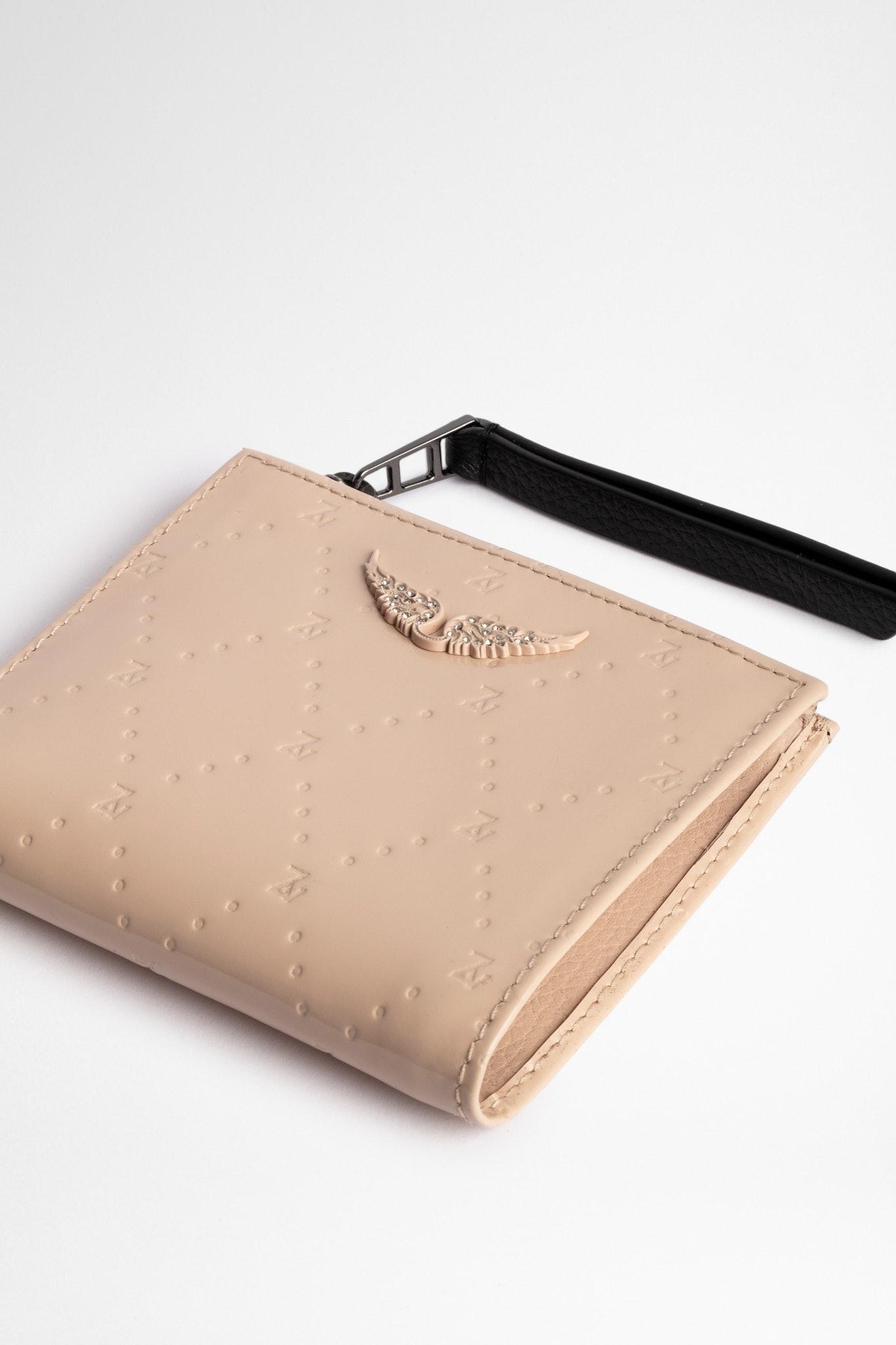Embossed ZV Fold Wallet