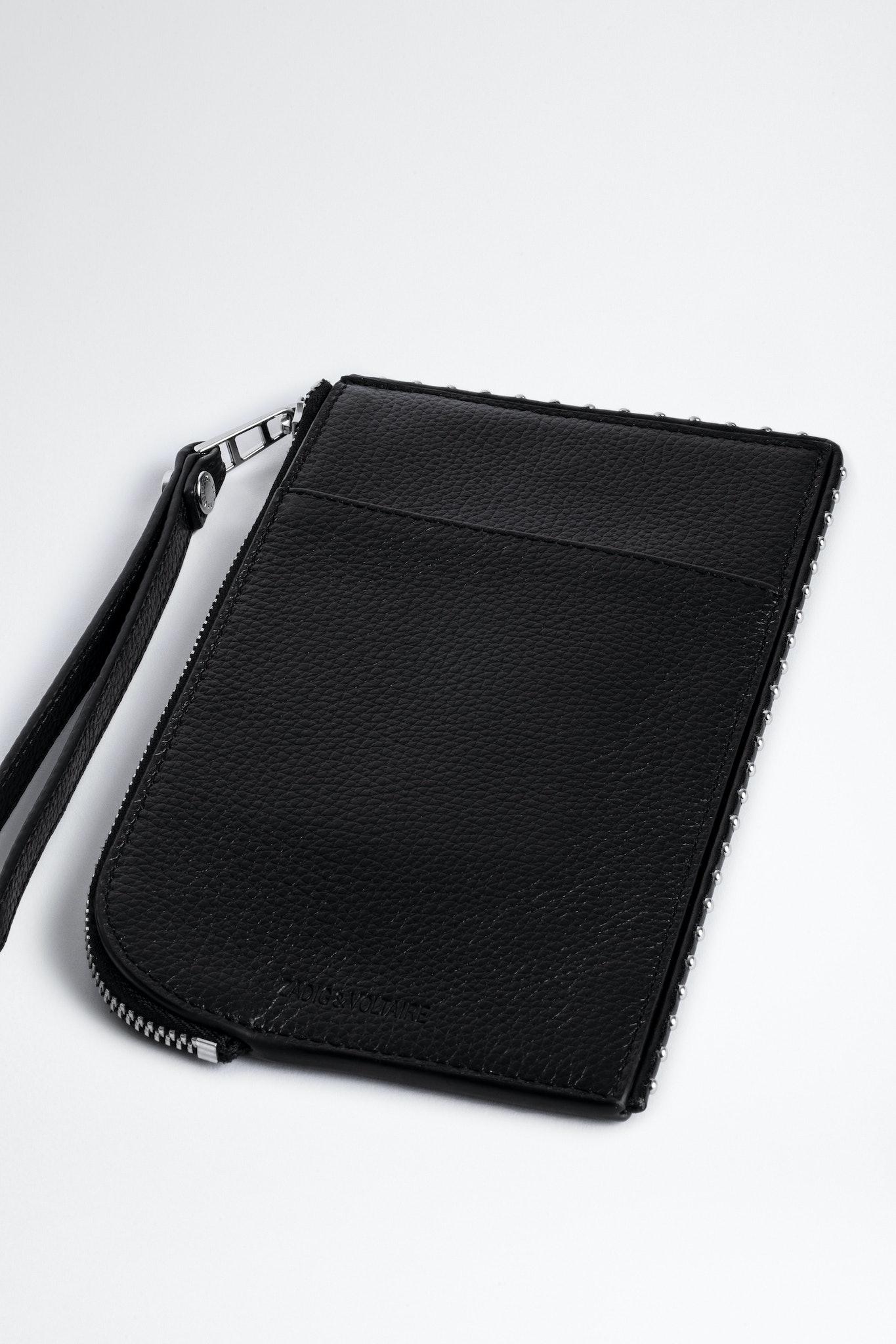 Pochette Phone Wallet Cuir Grainé