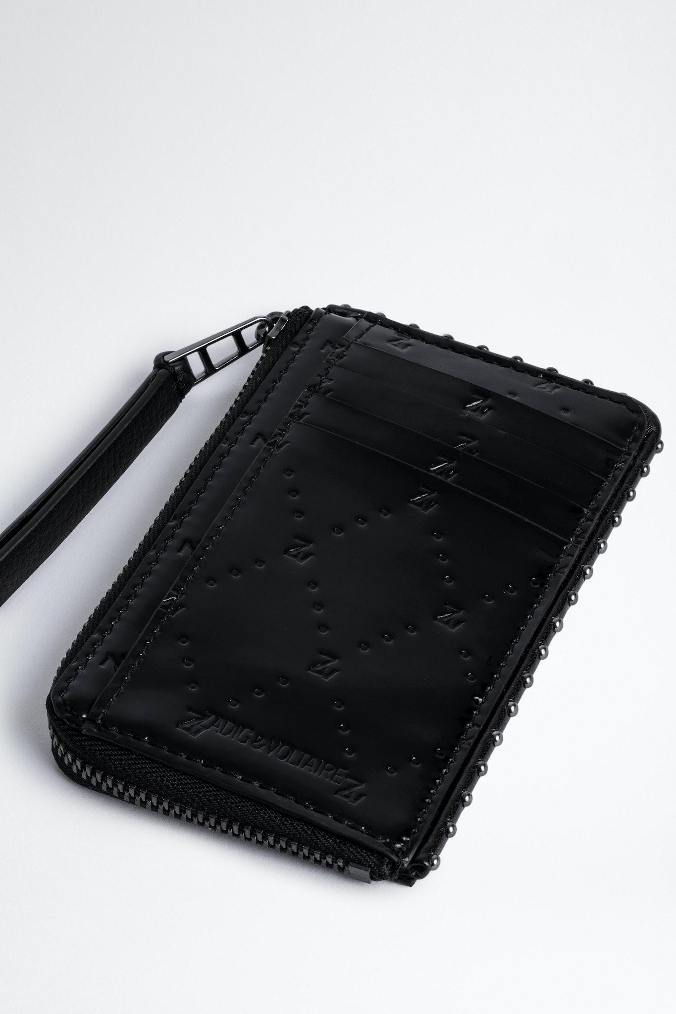 Embossed ZV Card Holder