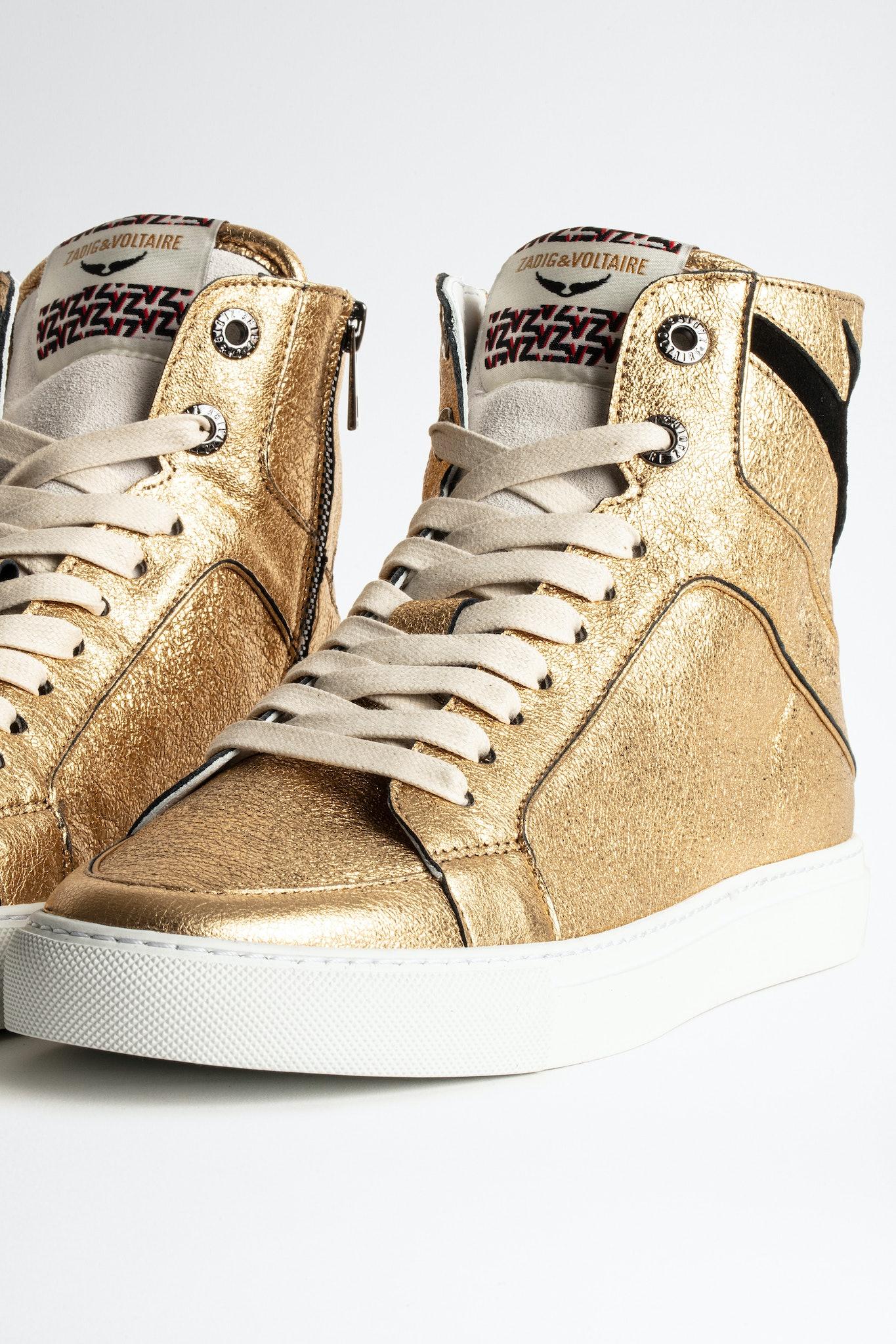 Sneakers ZV1747 High Flash Metal