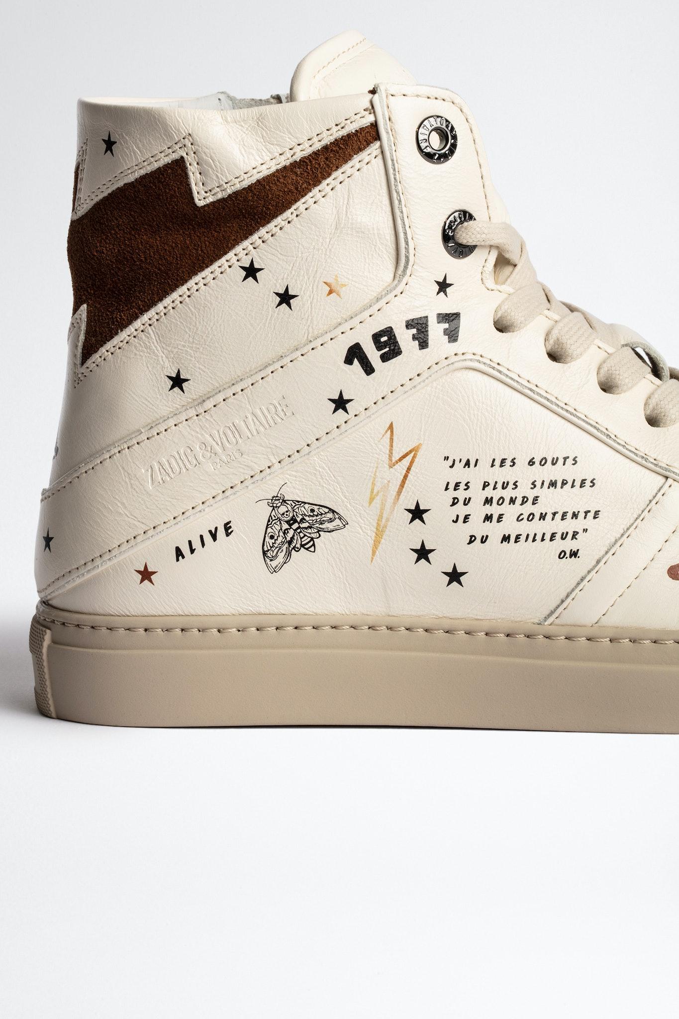 ZV1747 High Flash Crush Sneakers