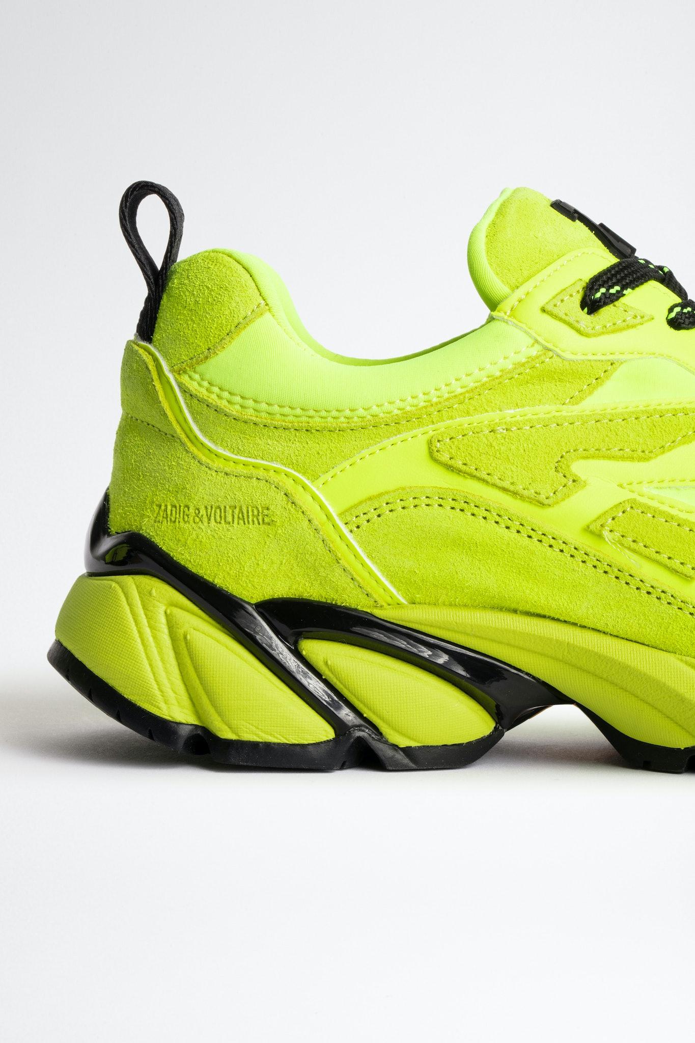 Wave Neoprene Mix Sneakers