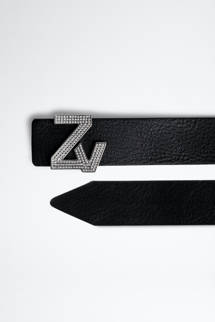 Cintura ZV Initiale cristaux LA MINI BELT