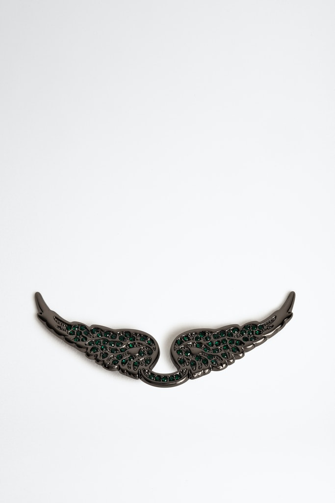 Swing Your Wings Strass charm