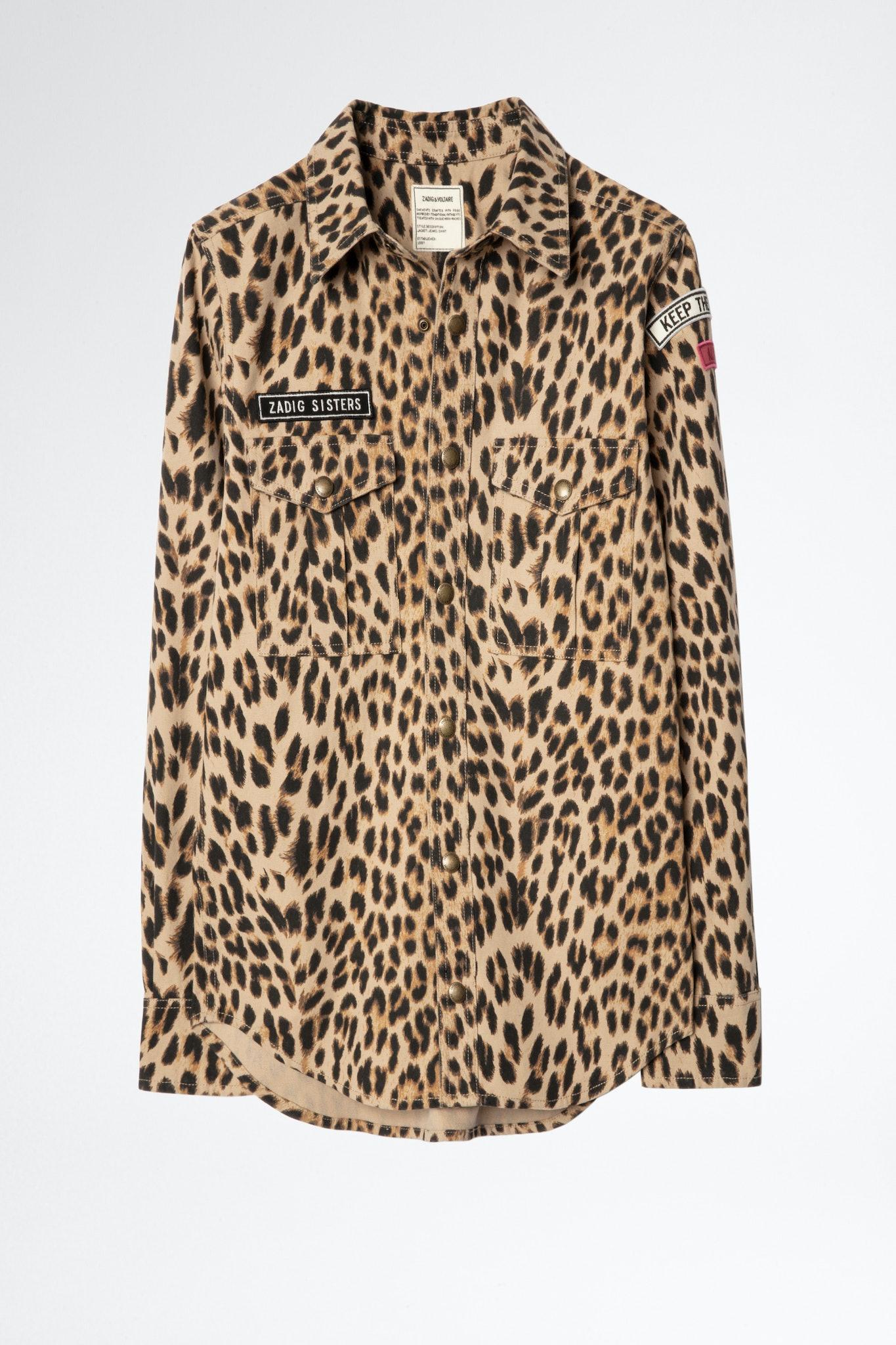 This Canvas Leo Shirt