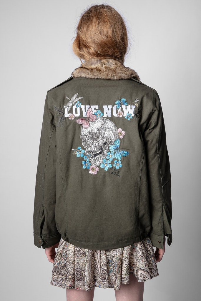 Parka Kid Embroidery