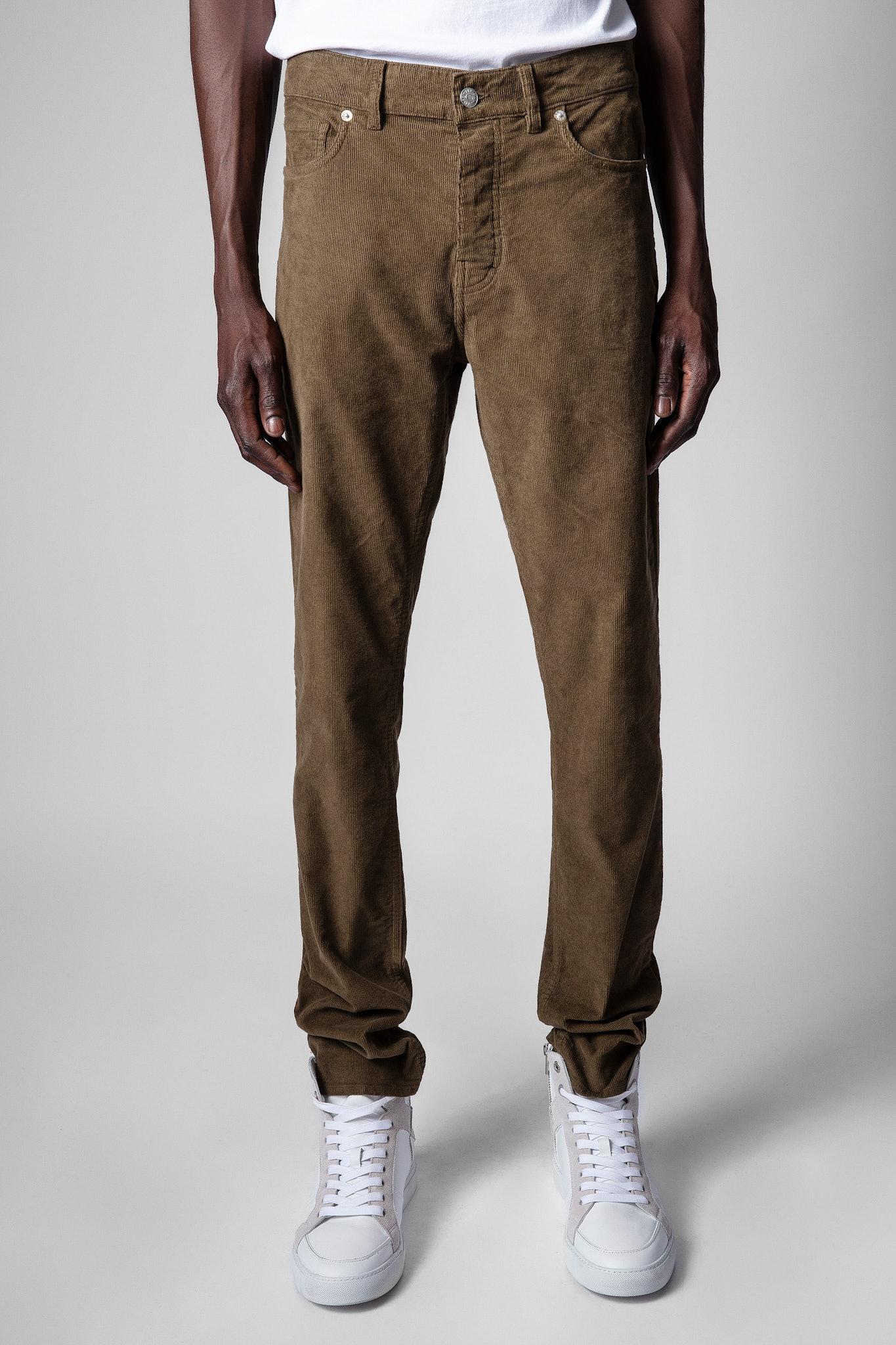 David Velvet Trousers
