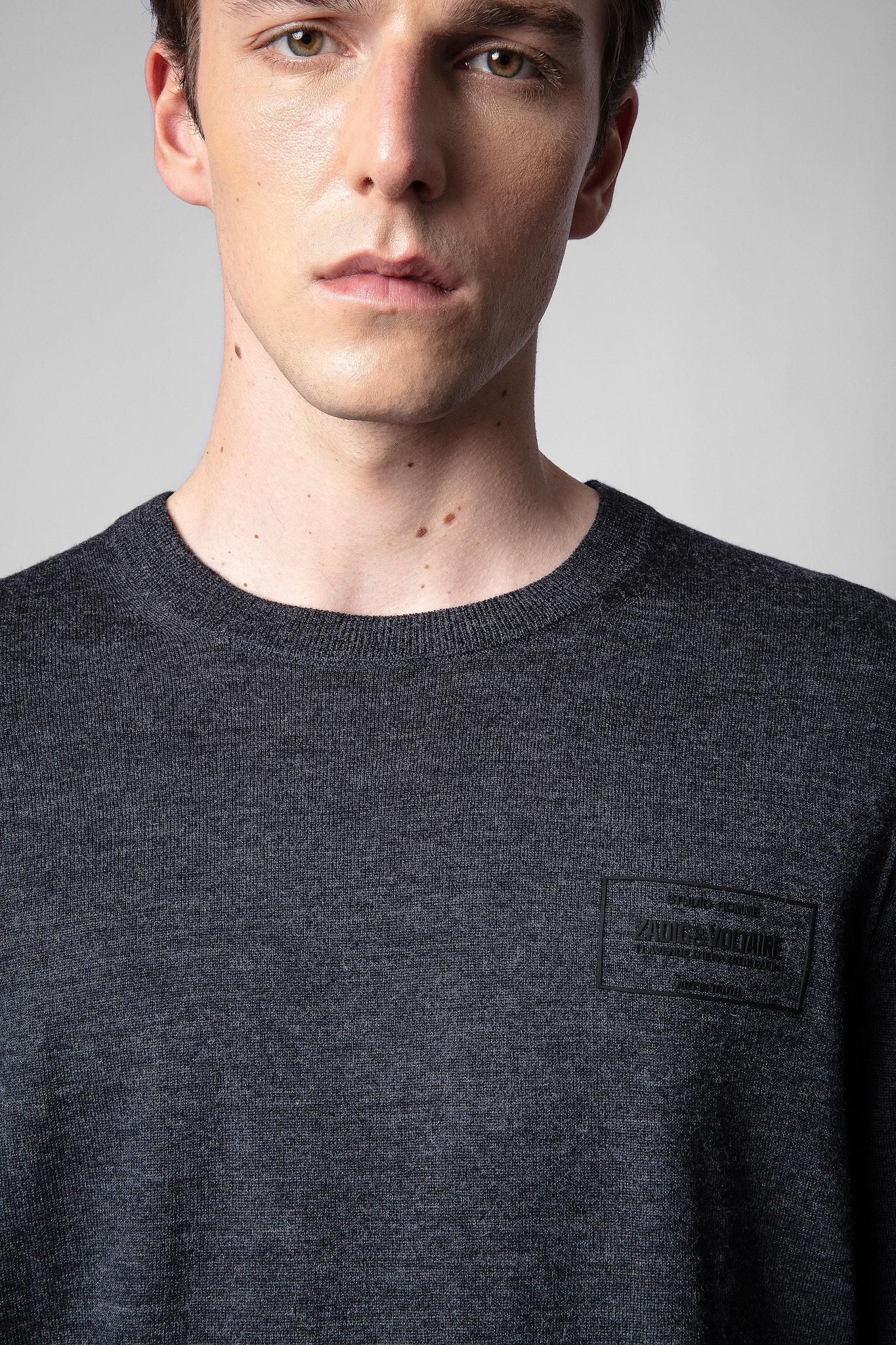 Ethan Badge Sweater