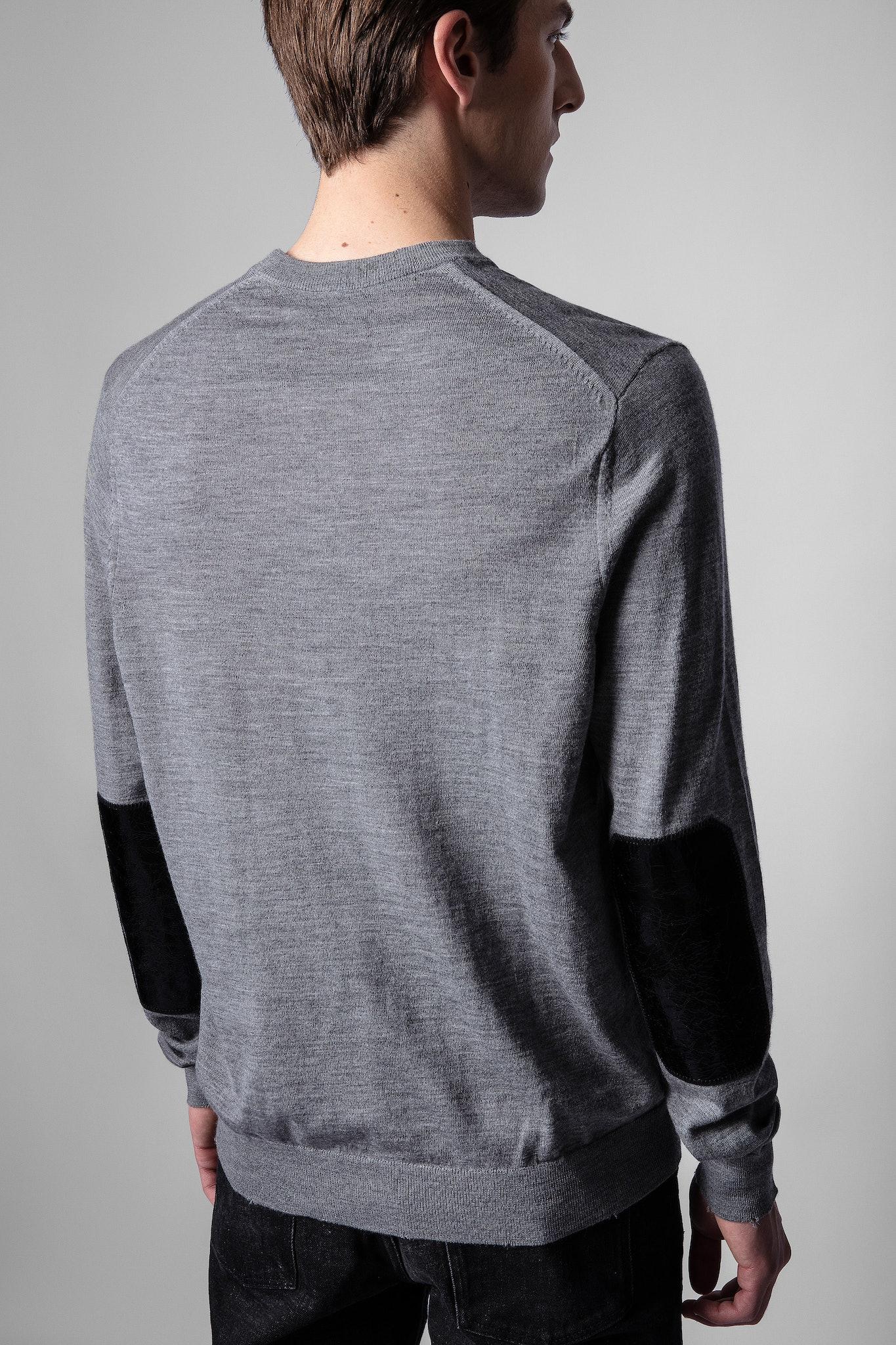 Vasko Patch Sweater