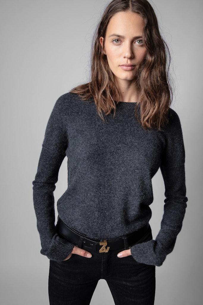 Cici Patch Sweater
