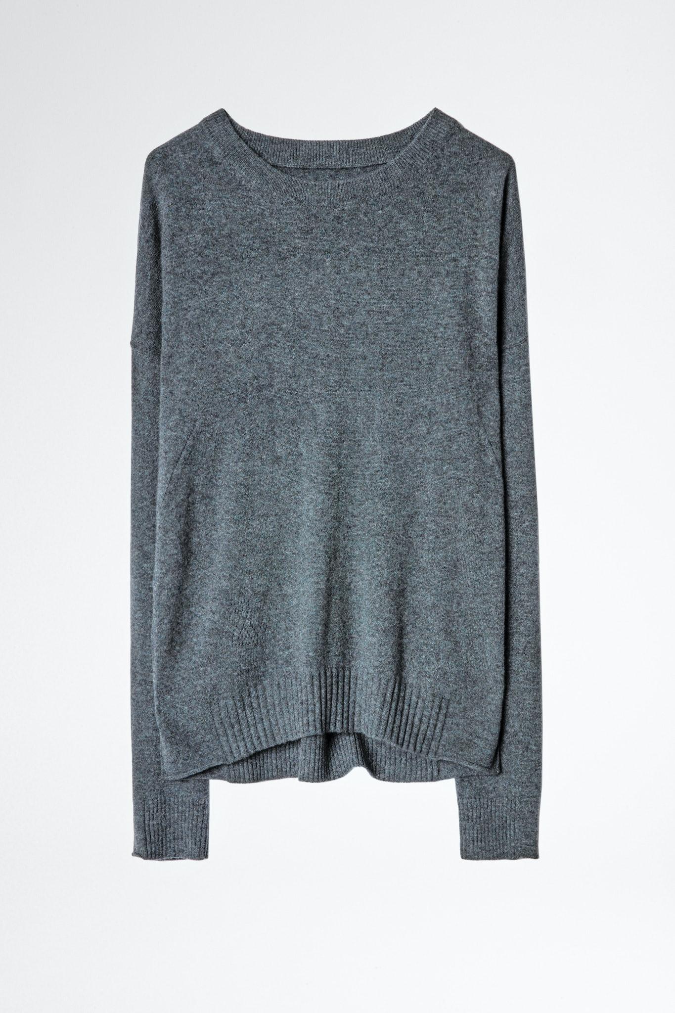 Cici Patch Cashmere Sweater