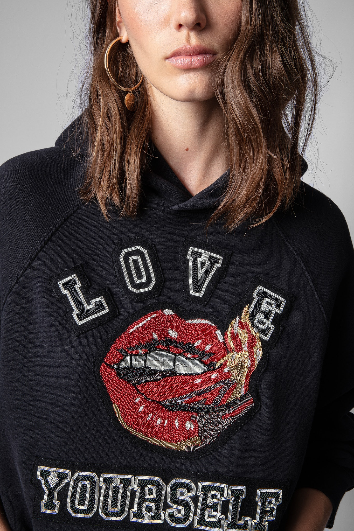 Georgy Mouth Sweater