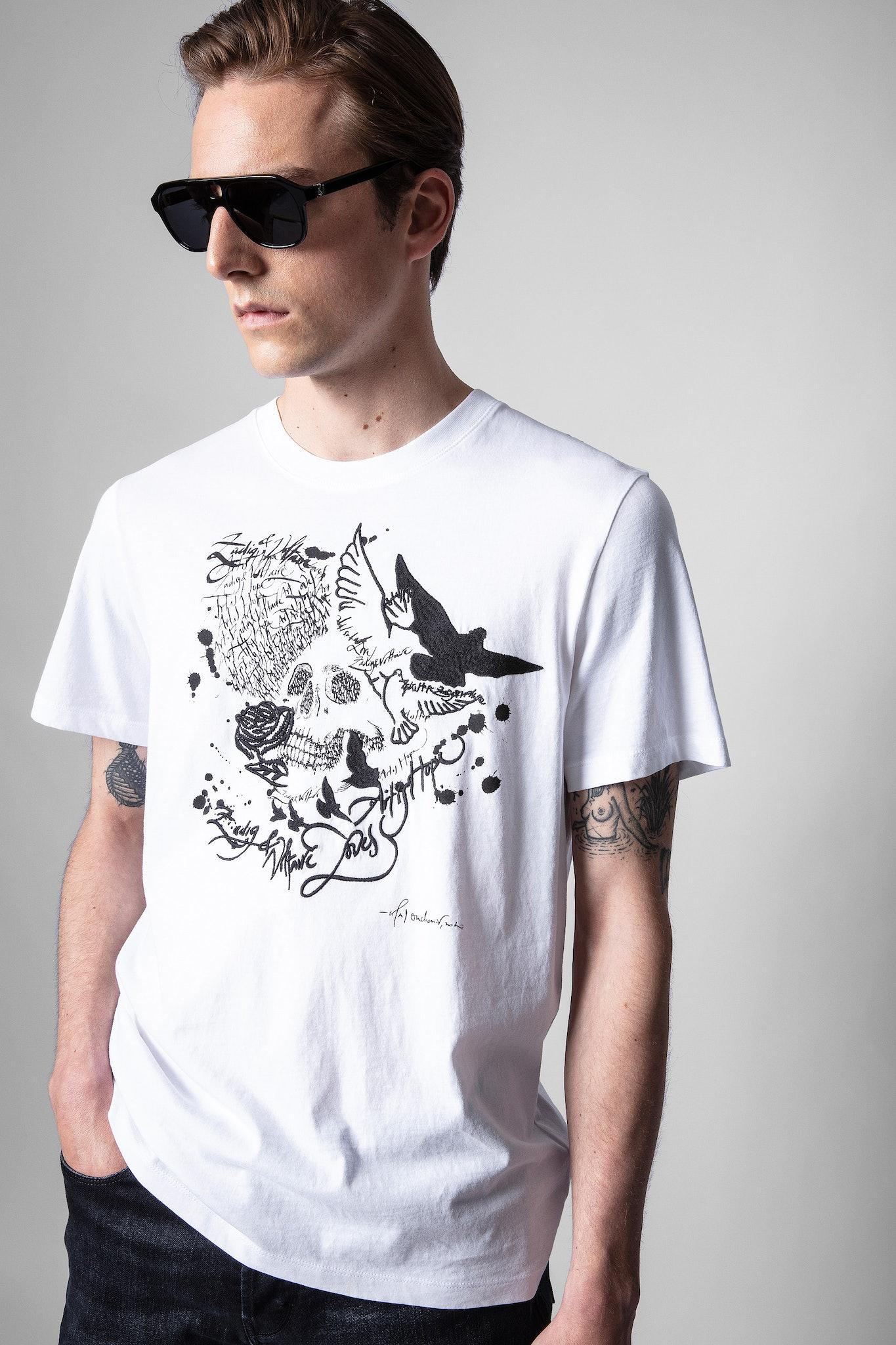 Ted Skull Art Is Hope T-Shirt