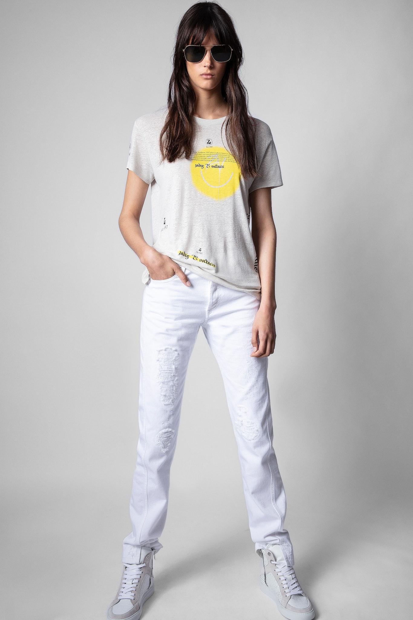 T-Shirt Walk Multicusto